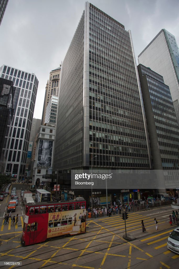The Wheelock House building, which houses the headquarters of Wheelock & Co. Ltd., stands in the Central district of Hong Kong, China, on Saturday, Nov. 10, 2012. Wheelock & Co. is controlled by the family of billionaire Chairman Peter Woo. Photographer: Jerome Favre/Bloomberg via Getty Images