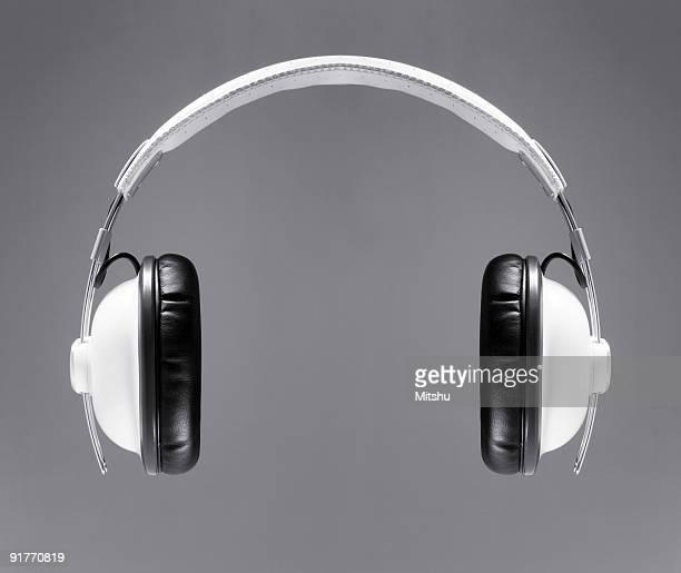 Los auriculares blanco
