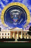 The White House and Seal of the President