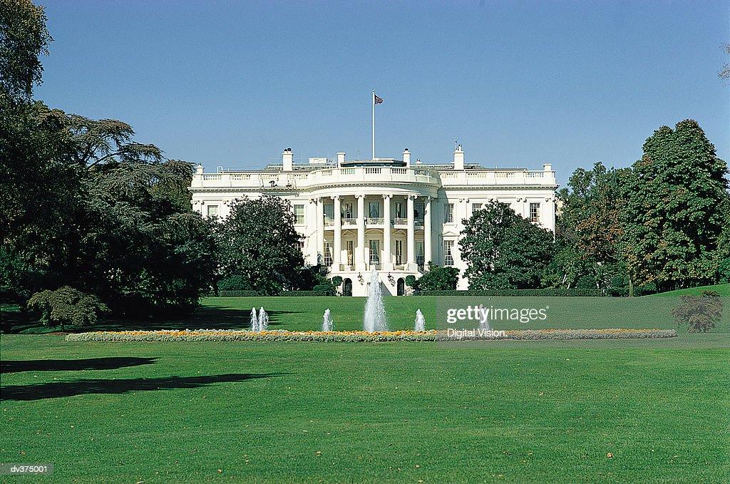 The White House, Washington DC, USA : Foto de stock