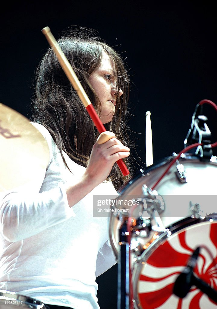 The White Stripes during O Wireless Festival 2007 - Leeds - Day 1 in Leeds, United Kingdom.