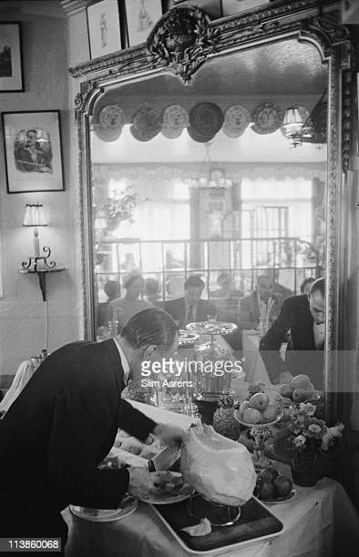 The White Tower restaurant in London 1955