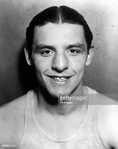 The 'Whitechapel Whirlwind' Jack 'Kid' Berg photographed whilst training in a New York Gym in January 1930
