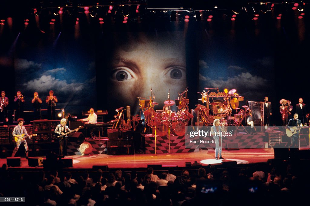 The Who performing 'Tommy' at the Universal Amphitheater in Los Angeles California on August 24 1989