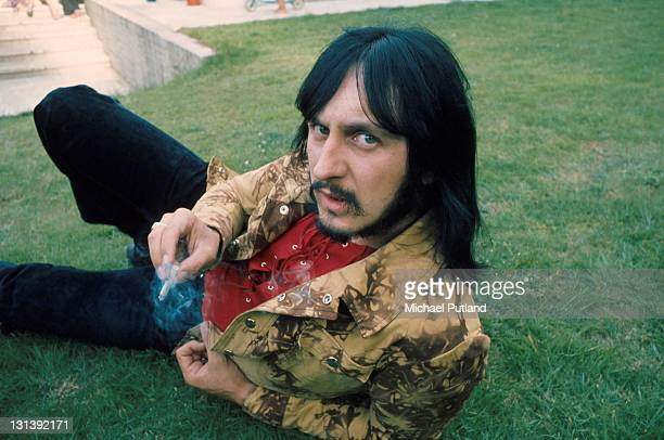 The Who pose for a press call July 1971 Surrey United Kingdom John Entwistle