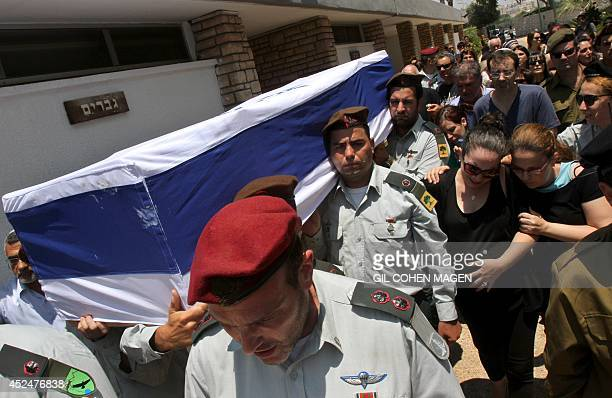 The wife of 32yearold Israeli army captain Tzafrir BarOr a commander of the Golani Brigade killed the previous day fighting a group of Palestinian...