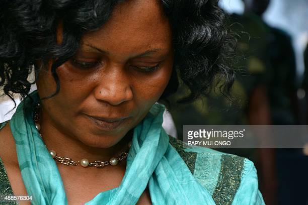 The wife of Congolese general Jerome Kakwavu accused of committing war crimes in 2003 and 2004 during his time as a senior figure of the Congolese...