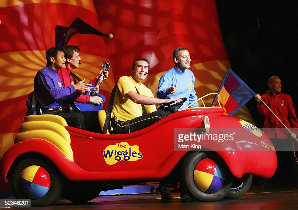 The Wiggles perform at the Sydney Entertainment Centre on March 10 2005 in Sydney Australia