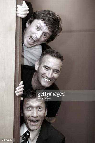 The Wiggles pose for a photograph at the Screen Music Awards at the City Recital Hall on November 27 2007 in Sydney Australia