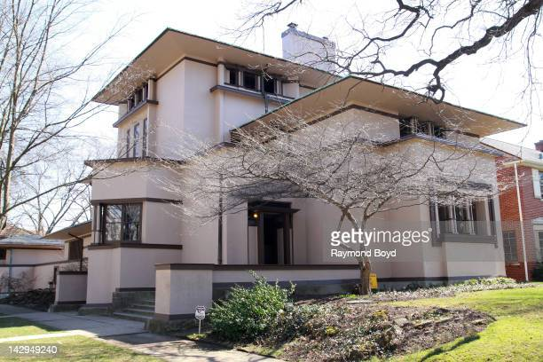 The William G Fricke House built in 1901 and designed by famed architect Frank Lloyd Wright in Oak Park Illinois on MARCH 17 2012