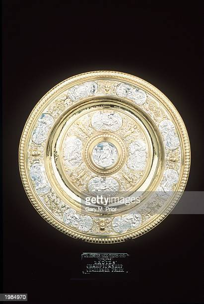 The Wimbledon ladies singles trophy during a studio shoot in Wimbledon London on June 20 1995