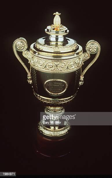 The Wimbledon mens singles trophy during a studio shoot in Wimbledon London on June 20 1995
