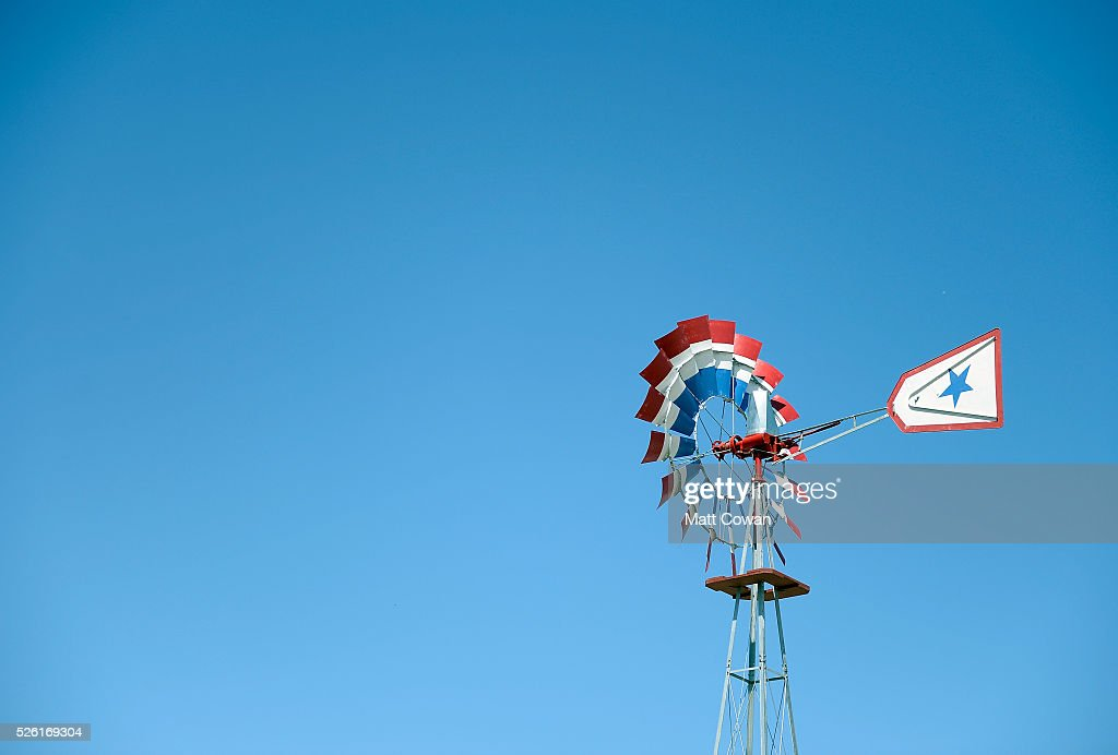 The windmill is seen during 2016 Stagecoach California's Country Music Festival at Empire Polo Club on April 29, 2016 in Indio, California.