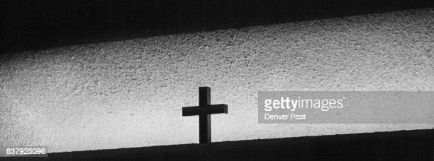 The window adornments at church of the Risen Christ on South Monaco Pkuy Credit Denver Post