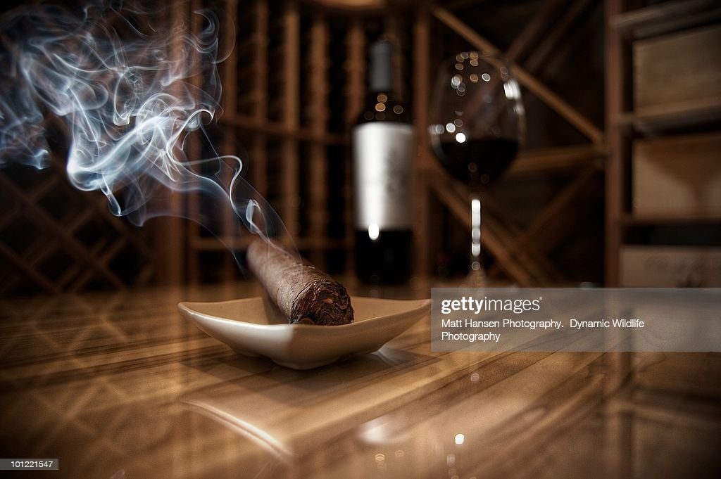 The Wine Cellar : Stock Photo