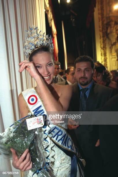 The winner Mareva Galantier Miss Tahiti now Miss France 1999