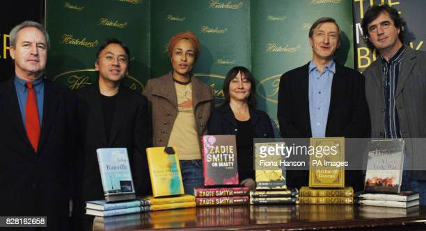 The winner of the Man Booker Prize for Fiction will be announced tonight Monday 10 October 2005 Man Booker shortlist authors with their novels in...