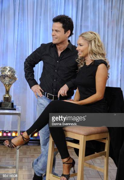 AMERICA The winners and finalists of this season's 'Dancing With The Stars' stop at Times Square to appear on GOOD MORNING AMERICA 11/25/09 airing on...