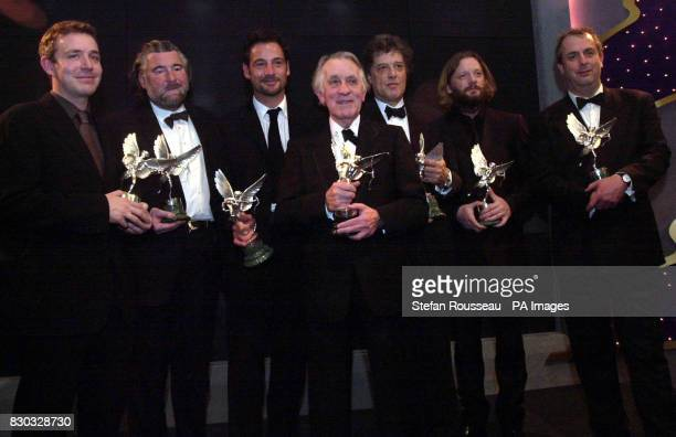 The winners of the Evening Standard British Film Awards 1999 held in the Savoy Hotel London including Jeremy Northam winner of the Best Actor award...