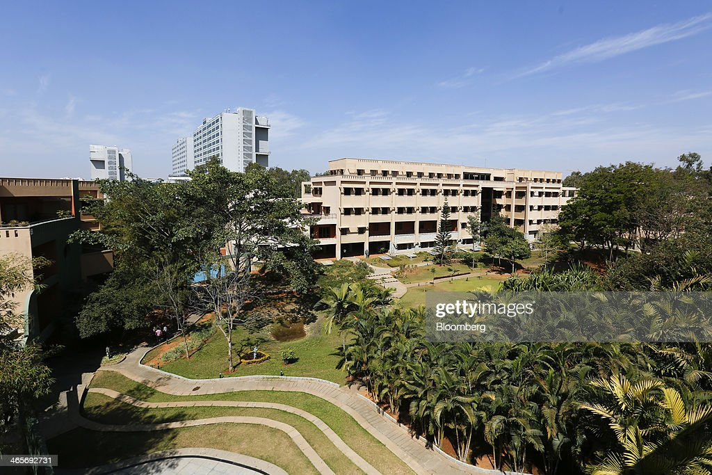 The Wipro Ltd. campus stands in Bangalore, India, on Tuesday, Jan. 28, 2014. Worldwide spending on information technology will grow 3.1 percent to $3.8 trillion this year, with IT services set to climb 4.5 percent, researcher Gartner Inc. forecast Jan. 6. Photographer: Vivek Prakash/Bloomberg via Getty Images