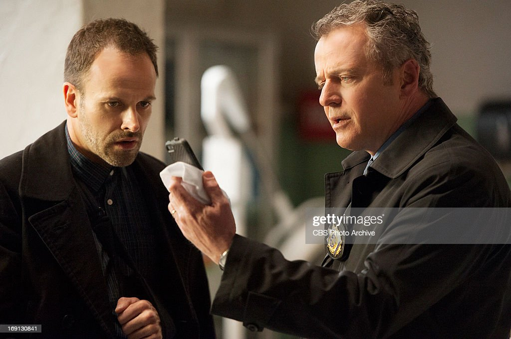 "'The Woman"" and ""Heroine' – Sherlock (Jonny Lee Miller, left) and Gregson (Aidan Quinn, right) once again find themselves in the crosshairs of the enigmatic Moriarty, on the two-hour season finale of ELEMENTARY, on Thursday, May 16 (9:01-11:00 PM, ET/PT) on the CBS Television Network."