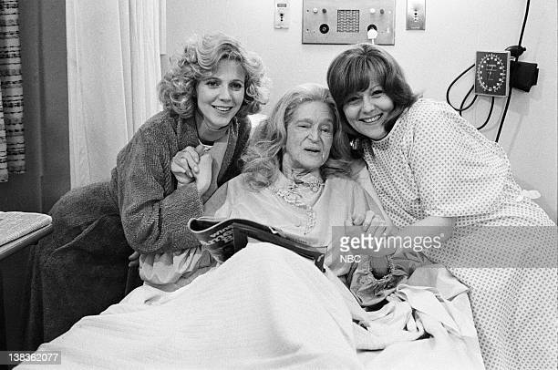 ST ELSEWHERE 'The Women' Episode 19 Pictured Blythe Danner as Paige Gerradeaux Eva Le Gallienne as Evelyn Milbourne Brenda Vaccaro as Rose Orso