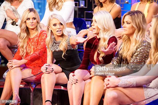 THE BACHELOR 'The Women Tell All' Tempers flare and there are plenty of fireworks as the most memorable women this season are back to confront Ben...