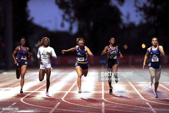 The women's 200 meter dash final at the Division II Men's and Women's Outdoor Track and Field Championship held at the Al Brenda Track at Warrior...