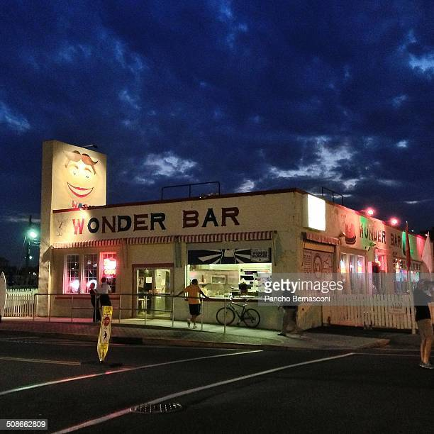 The Wonder Bar just off the beach in Asbury Park NJ
