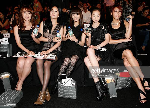 The Wonder Girls at Fiji at Concept Korea Spring 2011 during MercedesBenz Fashion Week at The Theater at Lincoln Center on September 9 2010 in New...