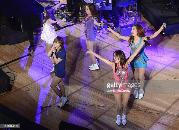 The Wonder Girls performs at the the 2012 United Nations Day Concert at the United Nations on October 24 2012 in New York City