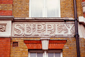 The word supply on building