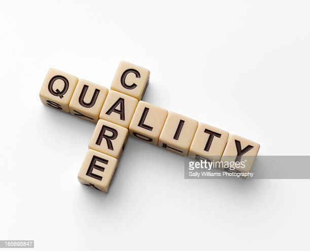 The words quality care