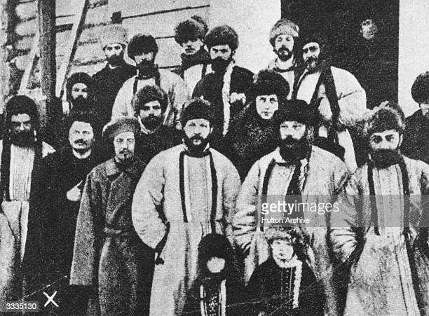 The Workers Council of St Petersburg whose members were sent to Siberia after the Revolution of 1905 Leon Trotsky who became a member of the Soviet...