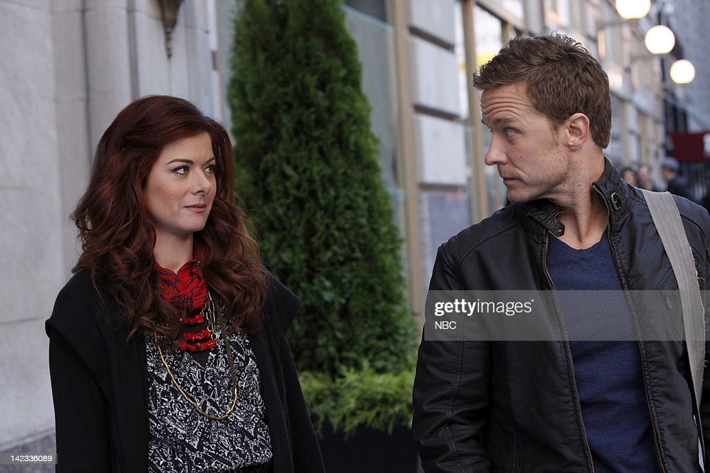 SMASH 'The Workshop' Episode 107 Pictured Debra Messing as Julia Houston Will Chase as Michael Swift