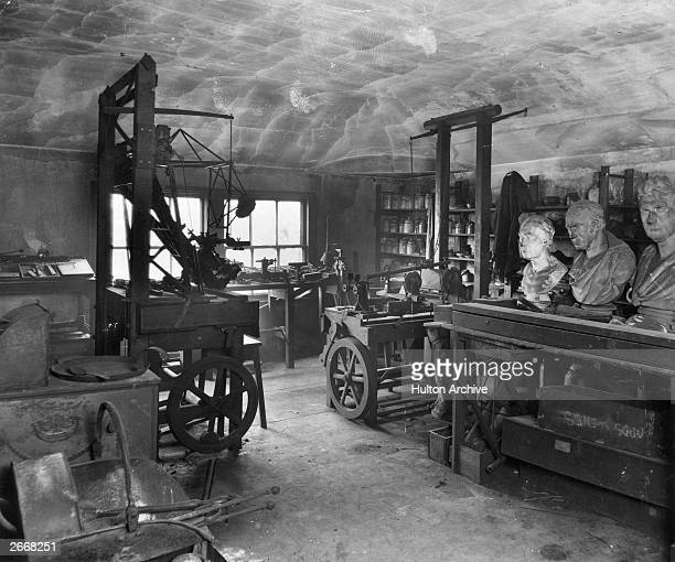 The workshop of Scottish steam engineer and inventor James Watt in Heathfield Birmingham where he lived from 1790 until his death