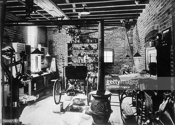 The workshop where American industrialist Henry FORD made his first car in 1890
