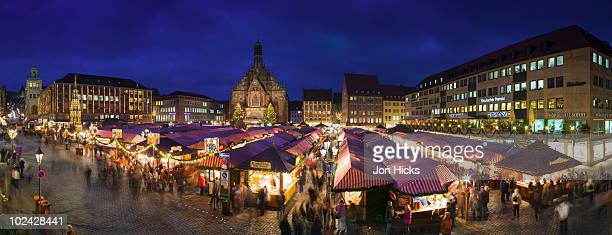 The world famous Nuremberg Christmas Market.