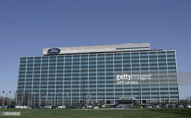 The world headquarters for the Ford Motor Company seen 15 April 2005 in Dearborn Michigan The Ford Company now includes Ford Lincoln Mercury Mazda...