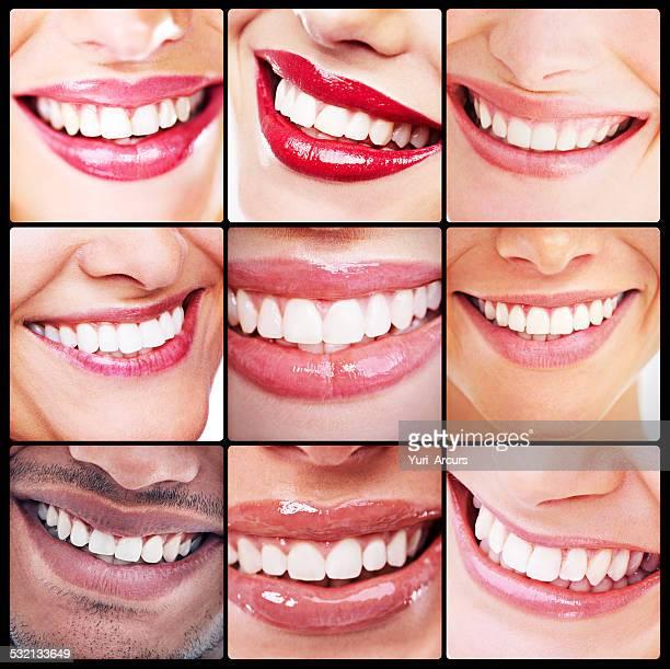 Die Welt der wunderschönen Zähnen