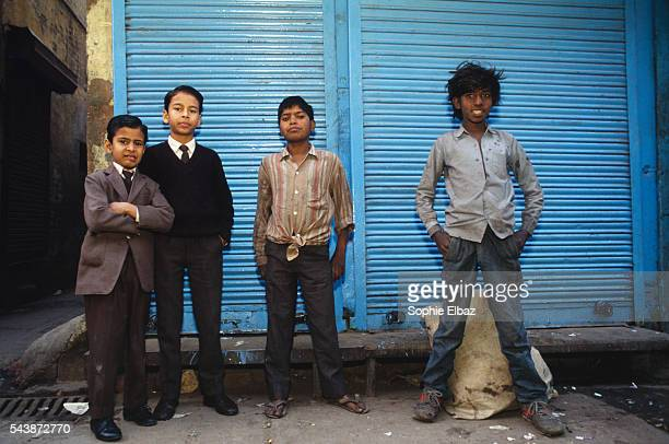 The world of Hindu children who wash and attend school is a cruel contrast to the lives of Aslam and Ravi both 10yearsold the street ragamuffins for...