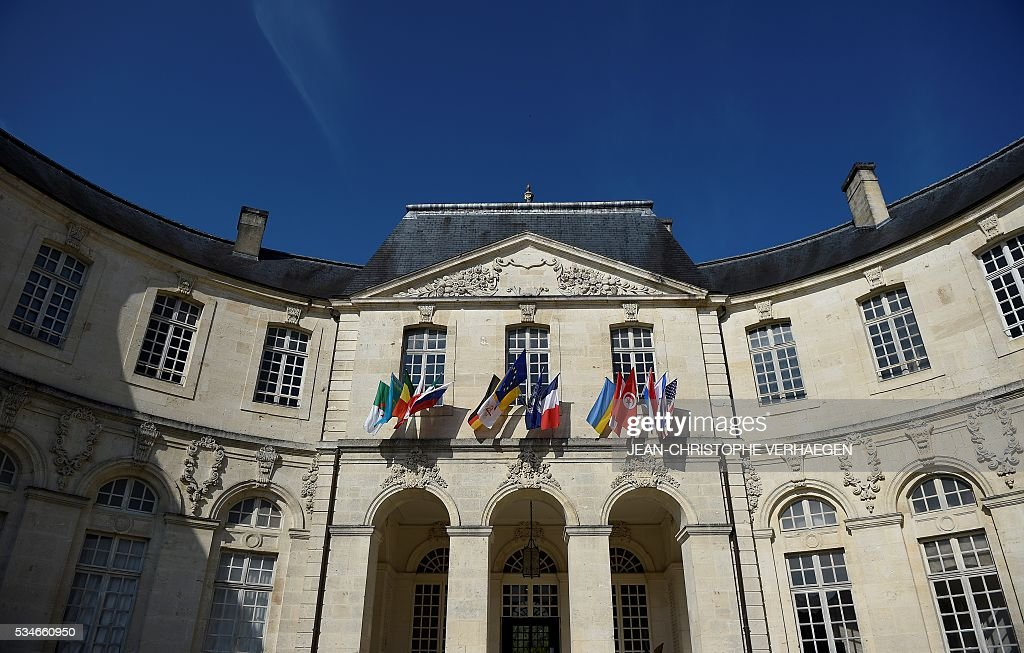 The World Peace Center is pictured, on May 27, 2016 in Verdun, eastern France. / AFP / JEAN