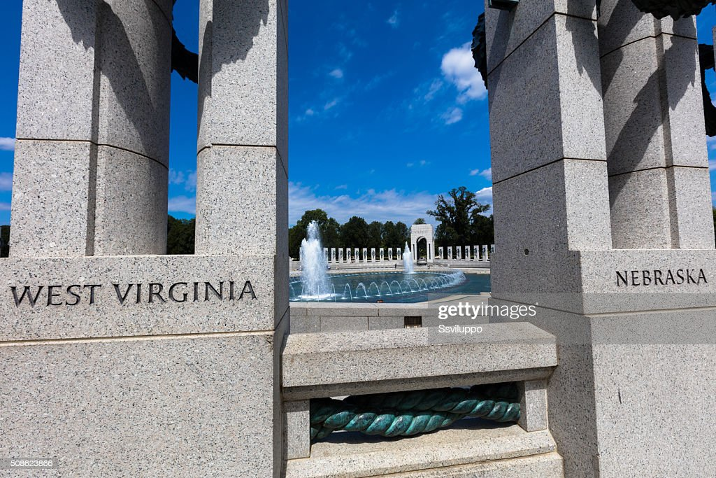 the World War II Memorial : Stock Photo