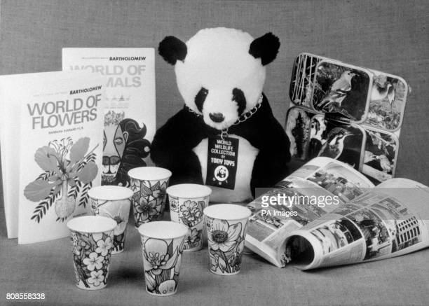 The World Wildlife Fund who have linked up with a manufacturer of vending machine paper cups to alert millions of people to the threat to 20000 wild...