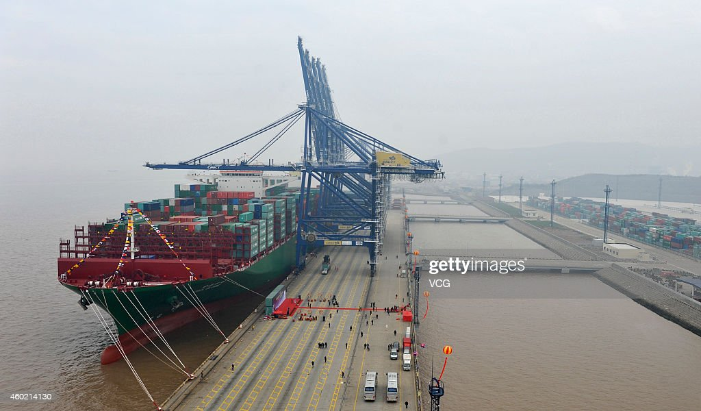 Largest shipping port / R cryptocurrency