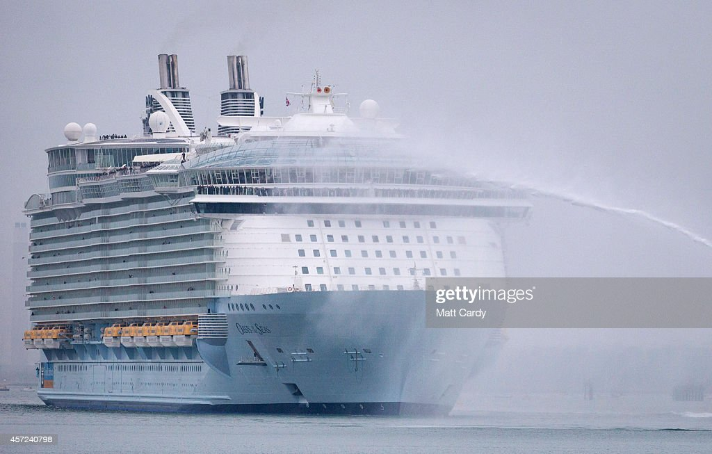 World39s Largest Cruise Ship Docks In Southampton  Getty Images