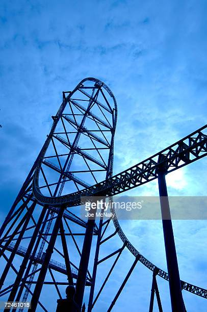 The world's tallest and fastest roller coaster Kingda Ka still awaits its first paying customers May 8 2005 at Six Flags Great Adventure in Jackson...