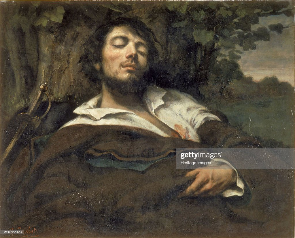 The Wounded Man Found in the collection of Musée d'Orsay Paris