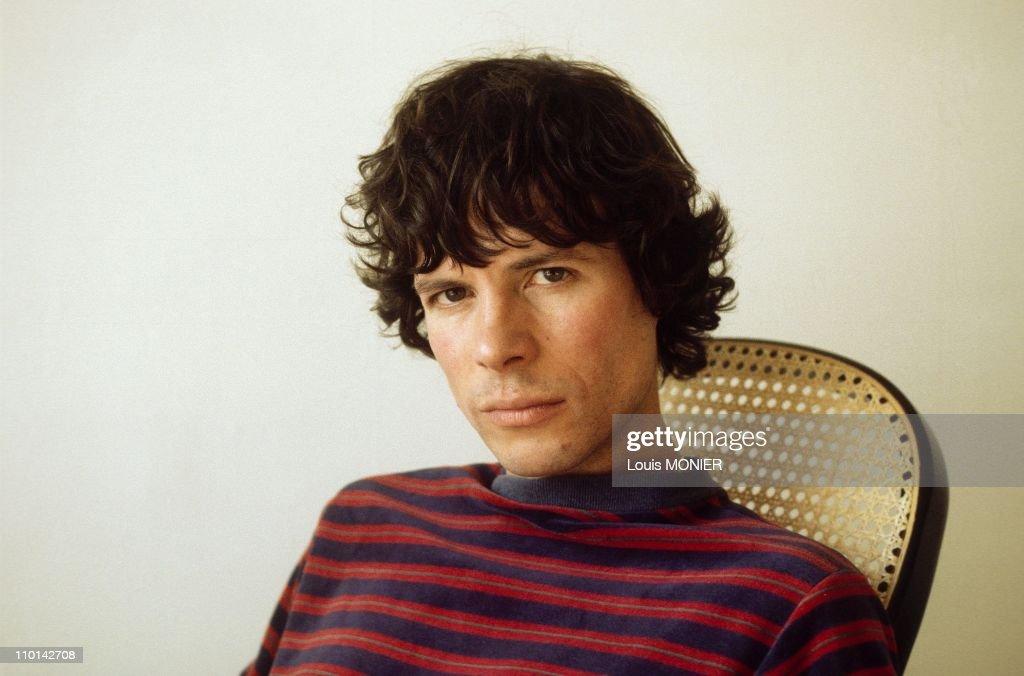 The writer Bernard-Marie Koltes in France on September 20, 1984.