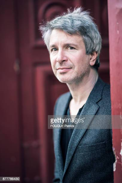 the writer Eric Vuillard Concourt Prize 2017 is photographed for Paris Match on november 07 2017 in Paris France